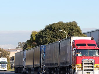 Visy acts on Adelaide truck queue