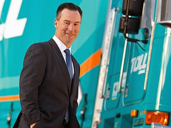 Toll reveals interim profit hit on its most important day