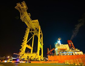 DP World welcomes new cranes and productivity gains