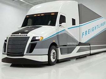 DTNA hails Freightliner SuperTruck competition tilt