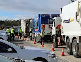 Waste fleet blitz uncovers serious shortfalls