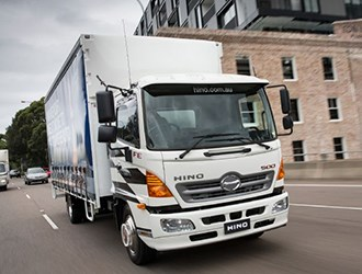 Hino Australia expands 500 series with long auto