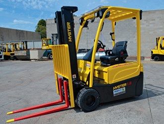 Forklift Review: Hyster J2.5XN
