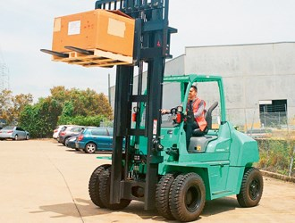 Forklift Review: Mitsubishi Grendia FD70N