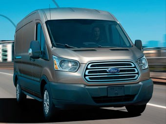 Ford Transit VO van review