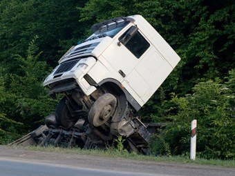 Truck crash statistics rise, but trending down