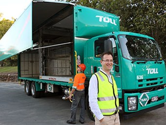 Toll claims first with Wingliner and auto-mezz combination