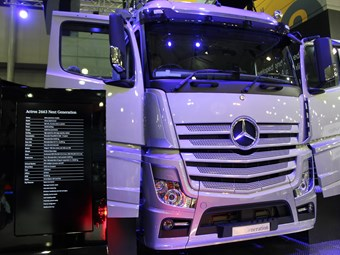 New Mercedes-Benz Actros Revealed