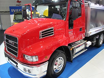 Iveco launches upgraded engine at Brisbane Truck Show