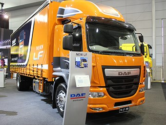 DAF launches new LF range at Brisbane Truck Show