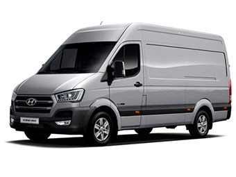 Hyundai launches the H350 light commercial van