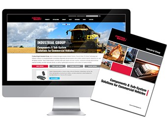 Curtiss-Wright Industrial Group revamps website
