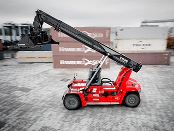 Kalmar launches efficient K-Motion drive train system