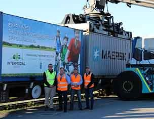 Intermodal Group marks modal shift milestone