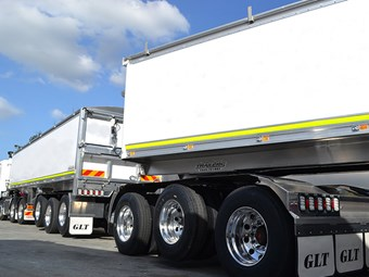 Lusty to show new tipper pocket road train at show