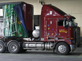 LNG-powered Kenworth K108 truck review