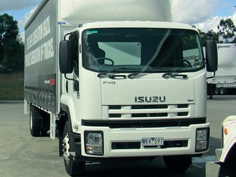 Isuzu FVR truck review