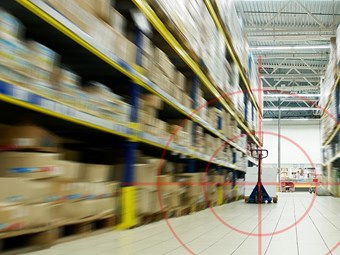 Distribution centres targeted by RMS