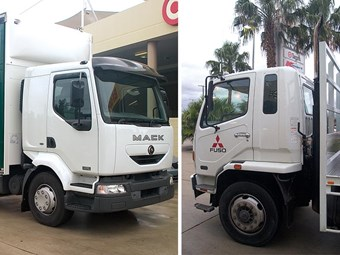 Mack Midlum MV16 vs. Fuso Fighter 10 truck reviews
