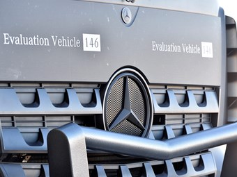 Outback testing for 2016 Mercedes-Benz Acros