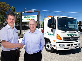 Hino, Ekebol and Nationwide celebrate milestones
