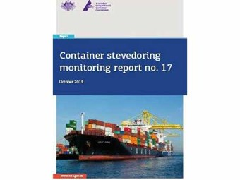 ACCC calls on container shipping to rescue third stevedore
