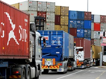 Truck turnaround times improve at Australian container ports