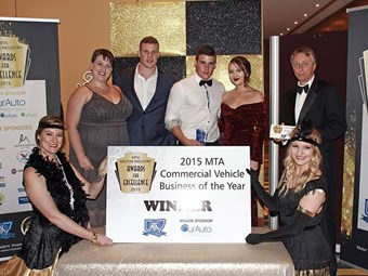 Midcoast Trucks crowned top NSW commercial vehicle business