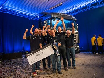 New Zealand crowned top Scania service team