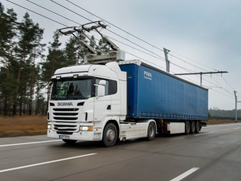 Scania to begin electric truck trial in March