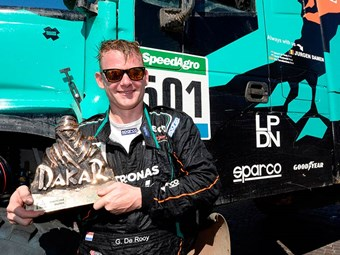 Iveco tops Dakar rally truck standings