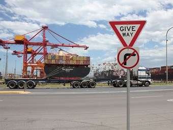DP World opens three truck grids at Melbourne terminal