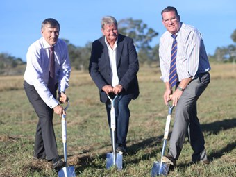 Construction of Bromelton intermodal terminal begins