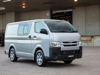 Update for Toyota HiAce diesel models