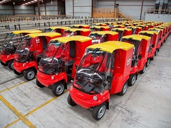 NZ Post rolls out Paxster electric vehicles
