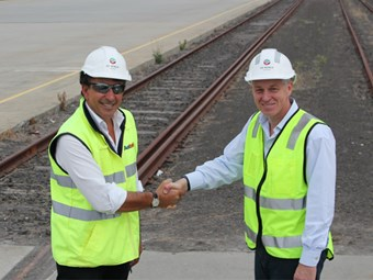 DP World to develop Austrak's new rail port