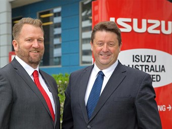 Isuzu Australia undergoes management restructure