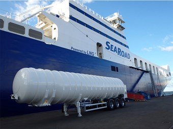 SeaRoad Shipping's Mersey II to begin sea trial