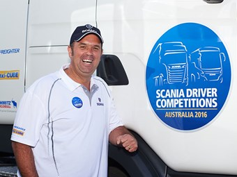 WA's Kendall tops Scania driver competition