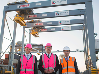 DP World has new Brisbane module up and running
