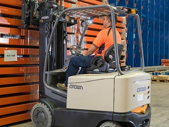 Forklift Review: Crown FC 5200 Series