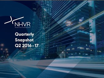 NHVR reports strong accreditation growth