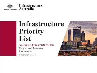 Infrastructure Australia updates priority projects list