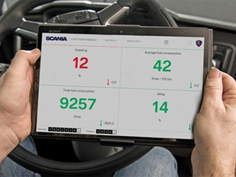 Scania launches new fleet performance app