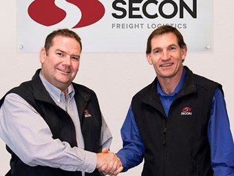 Leadership change at top of Secon Freight Logistics