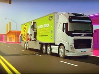 Volvo-ATA safety truck gets award nomination