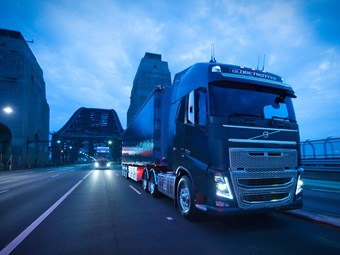 Volvo Trucks reveals new in-cab features