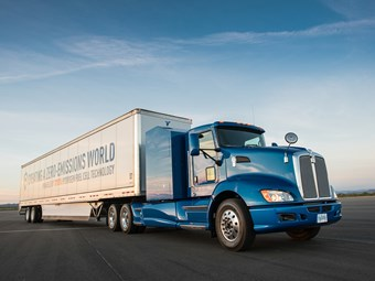 Toyota announces Kenworth-based hydrogen truck