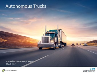 Survey finds autonomous trucks will drive industry in next 10 years