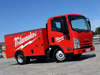 Isuzu's Milwaukee competition winner announced